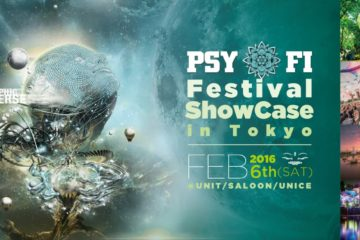 Psy Fi ShowCase In Tokyo, UNIT